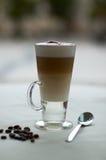 咖啡馆macchiatto 免版税图库摄影