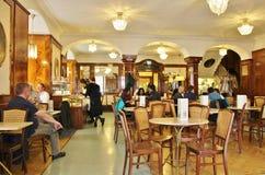 咖啡馆Tomaselli,萨尔茨堡 免版税库存图片