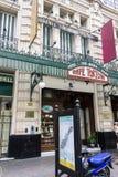 咖啡馆Tortoni布宜诺斯艾利斯阿根廷 免版税图库摄影