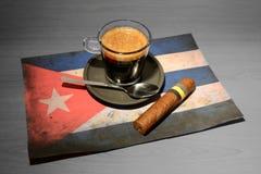 咖啡-古巴 图库摄影