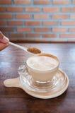 咖啡 咖啡杯白色 免版税库存图片