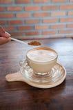 咖啡 咖啡杯白色 图库摄影