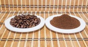 咖啡类型 免版税库存图片
