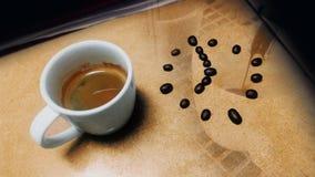 咖啡更多时间 库存图片