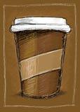 咖啡去 免版税库存图片