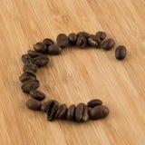 咖啡C 免版税库存照片