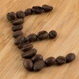 咖啡E 库存图片
