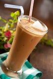 咖啡frappe 免版税库存照片