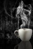 咖啡grunge 免版税库存图片