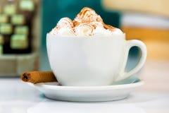 咖啡JPG杯子 免版税图库摄影
