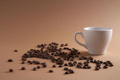 咖啡kaffeezeit时间 免版税图库摄影