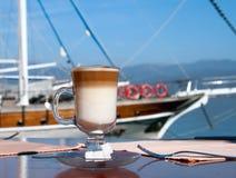 咖啡latte 库存照片