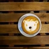 咖啡Latte 免版税库存图片
