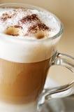 咖啡latte machiatto 库存照片