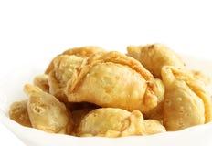 咖喱吹,泰国样式 免版税库存图片