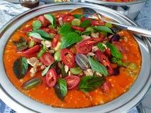 咖喱红色泰国 库存照片