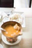 咖喱鸡泰国烹调食物泰国亚洲人 免版税库存图片
