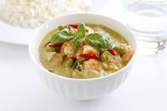 咖喱绿色泰国 免版税库存照片