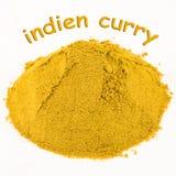 咖喱indien香料 库存图片