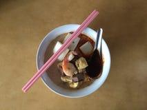 咖喱mee 免版税图库摄影