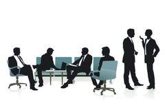 咨询和战略与工友 免版税图库摄影