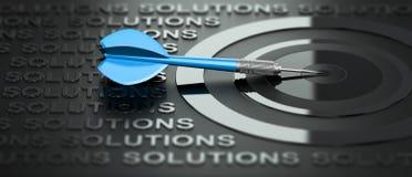 咨询的事务或的营销,创造性的解答 库存例证
