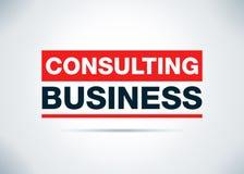 咨询的企业摘要平的背景设计例证 库存例证