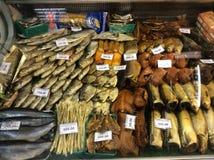 咸的鱼 库存照片