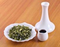 咸ramsons (葱属ursinum) 免版税库存图片