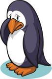 哀伤的企鹅 图库摄影