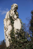 哀伤的圣母玛丽亚 库存图片