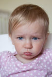 哀伤的孩子 免版税图库摄影