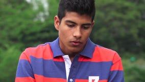 哀伤的沮丧和孤独的青少年的男孩 影视素材