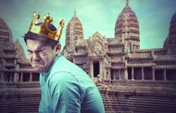 哀伤的王子 免版税库存照片