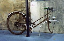 哀伤的自行车 库存图片