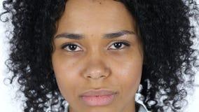 哀伤的黑人妇女面孔 影视素材