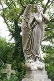 哀悼天使的交叉 库存照片