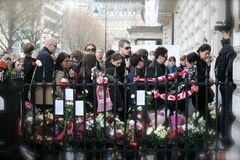 哀悼的正式波兰 免版税图库摄影