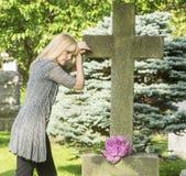哀情和死亡 图库摄影