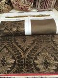 织品室内装饰品设计 免版税库存照片