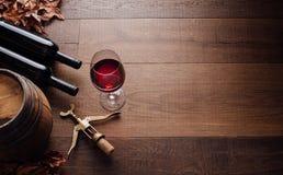 品尝优秀红葡萄酒 库存照片
