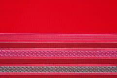 织品布料样式颜色红色 图库摄影