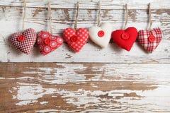 织品心脏 免版税库存图片