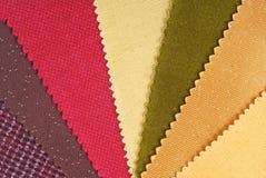 织品材料 免版税库存照片