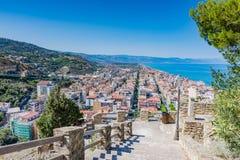 品柱D `奥兰多,西西里岛 免版税库存图片