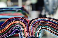 织品样品 库存图片