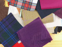 织品样品 免版税库存图片