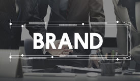品牌单项产品行销商业广告产品概念 图库摄影