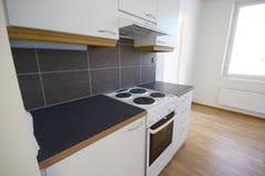 品牌厨房新的照片 免版税库存照片