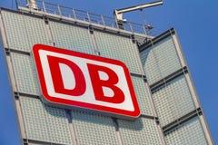品牌德国铁路的商标 免版税图库摄影